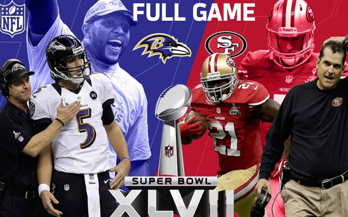 Superbowl XLVII Brothers Showdown