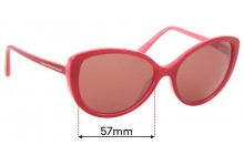Sunglass Fix Replacement Lenses for Collette Dinnigan Sun Rx 12 - 57mm wide
