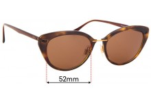Ray Ban RB4250 LightRay Replacement Sunglass Lenses - 52mm wide