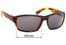 Sunglass Fix Replacement Lenses for Serengeti Gio - 60mm Wide
