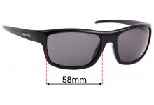 Spotters Bolt Replacement Sunglass Lenses - 58mm wide