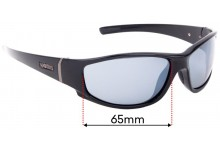 Spotters Cristo Replacement Sunglass Lenses - 65mm wide