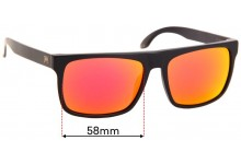 William Painter The Level Replacement Sunglass Lenses - 58mm Wide