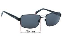 Alex Perry AP Mens Sun Rx 02 Replacement Sunglass Lenses - 56mm Wide
