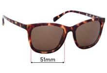 Sunglass Fix Replacement Lenses for Cancer Council Parklea - 51mm wide
