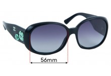 Chanel 5113 Sunglass Replacement Lenses - 56mm wide