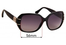 Sunglass Fix Replacement Lenses for Coach Bryn HC8119 - 56mm wide