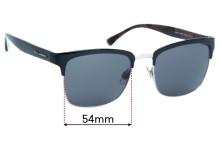 Sunglass Fix Replacement Lenses for Dolce & Gabbana DG2148 - 54mm wide