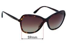 Sunglass Fix Replacement Lenses for Dolce & Gabbana DG4297 - 59mm wide