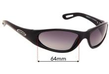 Legend Wishbone 2103 Replacement Sunglass Lenses - 64mm Wide