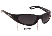 Legend Wishbone 2103 Replacement Sunglass Lenses - 65mm Wide