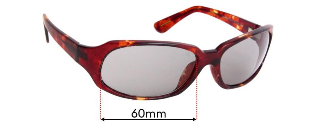 Maui Jim MJ110 Navigator Replacement Sunglass Lenses - 60mm Wide