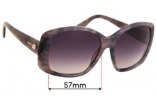 Mimco Talitha Replacement Sunglass Lenses - 57mm wide
