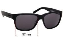 Morrissey Boulevard Replacement Sunglass Lenses - 57mm wide