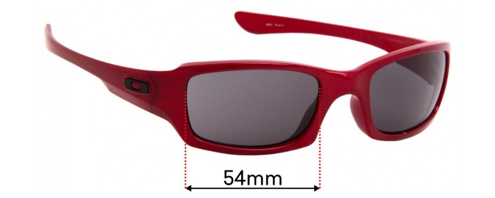 Oakley 4 + 1 Squared Replacement Lenses - 54mm Wide