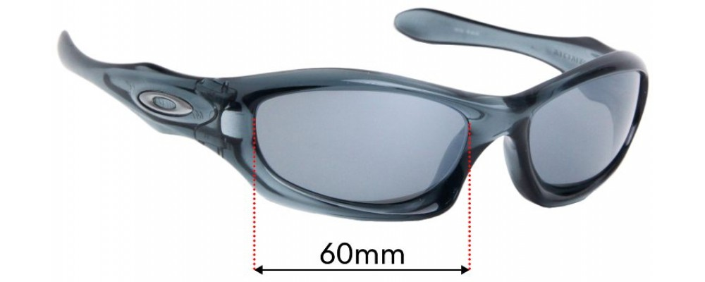 Oakley Monster Dog Replacement Sunglass Lenses - 60mm wide