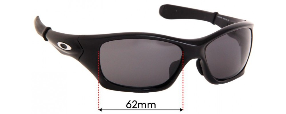 Oakley Pit Bull OO9161 Replacement Sunglass Lenses - 62mm wide