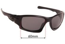 Oakley Ten Replacement Sunglass Lenses - 60mm - 61mm wide