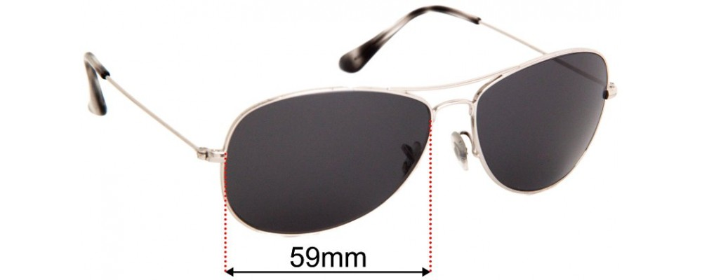 Ray Ban RB3562 Chromance Replacement Lenses 59mm