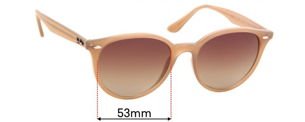 Sunglass Fix Replacement Lenses for Ray Ban RB4305- 53mm Wide