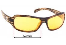 Smith Method Replacement Sunglass Lenses - 62mm wide