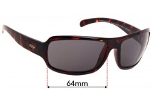 Smith Super Method Replacement Sunglass Lenses - 64mm wide