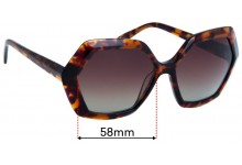 The Glass Of Brixton BS0092 Sunglass Replacement Lenses - 58mm Wide