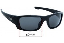 Tonic Youranium Replacement Sunglass Lenses - 60mm Wide