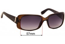 Sunglass Fix Replacement Lenses for Vogue VO2663-S - 57mm Wide