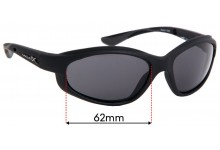 Wiley X XL-1 Replacement Sunglass Lenses - 62mm Wide