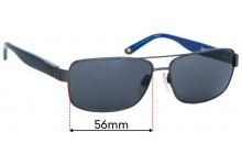 Alex Perry AP SunRx 10 Replacement Sunglass Lenses - 56mm Wide
