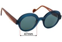 Anne Et Valentin Sofia Replacement Sunglass Lenses - 47mm wide