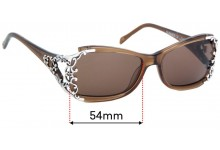 Sunglass Fix Replacement Lenses for Brighton Summer of Love - 54mm