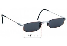 CHAI So2 Replacement Lenses - 49mm