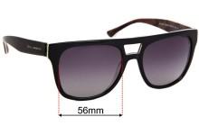 Sunglass Fix Replacement Lenses for Dolce & Gabbana DG4255 - 56mm wide