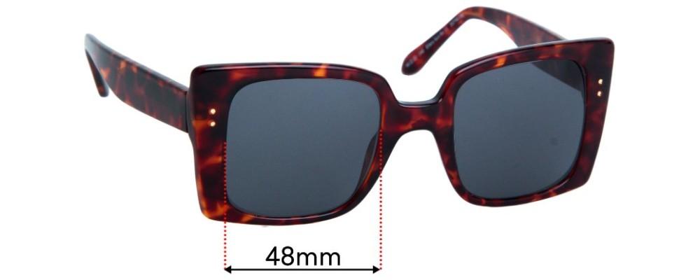 Ellery Sun Rx 11 Replacement Sunglass Lenses - 48mm Wide