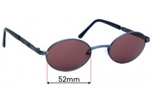 ENVY 2012 Replacement Sunglass Lenses - 52mm wide