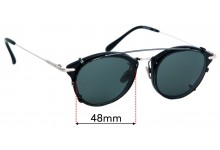 Frency & Mercury clip On for Pocket Piece Replacement Sunglass Lenses - 48mm wide