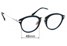 Frency & Mercury Pocket Piece Replacement Sunglass Lenses - 48mm wide