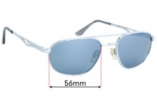 Sunglass Fix Replacement Lenses for Iris Unknown Model - 56mm wide