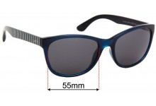 Joules Salcombe JS7011 Replacement Sunglass Lenses - 55mm Wide