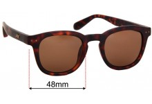 Sunglass Fix Replacement Lenses for Local Supply Avenue - 48mm wide