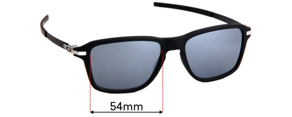 Oakley Wheel House OO9469 Replacement Sunglass Lenses - 54mm Wide