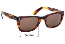 Sunglass Fix Replacement Lenses for Ray Ban RB2248 Caribbean  - 52mm wide