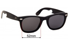 William Painter The Hook Replacement Sunglass Lenses - 52mm Wide