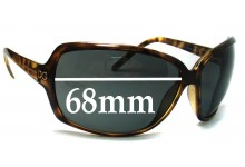 Sunglass Fix New Replacement Lenses for Dolce & Gabbana DG6016 - 68mm Wide
