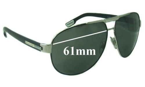 Dolce & Gabbana DG2099 Replacement Sunglass Lenses - 61mm wide