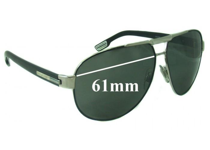 SFX Replacement Sunglass Lenses fits Dolce /& Gabbana DG6025 66mm Wide