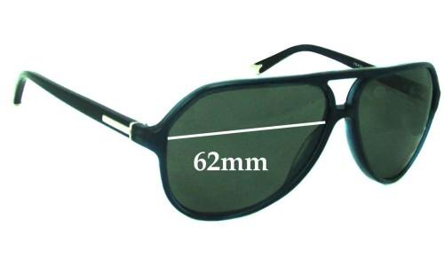 Dolce & Gabbana DG4102 Replacement Sunglass Lenses - 62mm wide