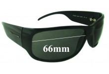 Sunglass Fix New Replacement Lenses for Dolce & Gabbana DG6005 - 66mm Wide